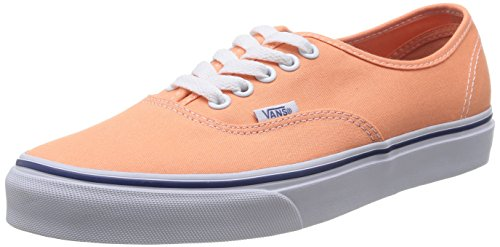 Vans AUTHENTIC, Unisex-Erwachsene Sneakers, Orange (canteloupe/true FRI), 38 EU (Canvas Schuhe Orange)