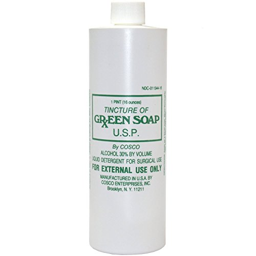 Cosco Tincture of Green Soap, 16 Ounce by Cosco