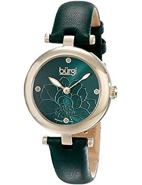 BURGI Damen-Armbanduhr Woman Analog Quarz BUR128GN