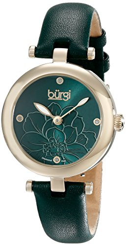 burgi-womens-pure-essence-diamond-watch-with-green-dial-and-green-leather-strap-bur128gn