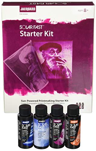 Jacquard Solar Schnell Sun Powered Druckgrafik Starter Kit, Multi -