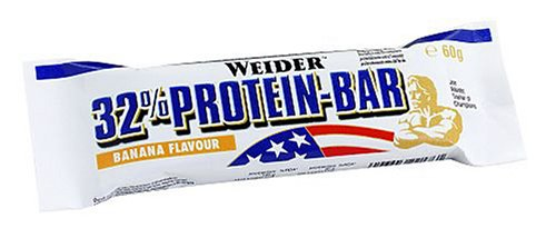 Weider Strawberry 60g 32 Percent Protein Bar – Pack of 24 Bars
