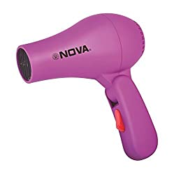 MaxelNova Professional Folding Hair Dryer Hair with 2 Speed Control