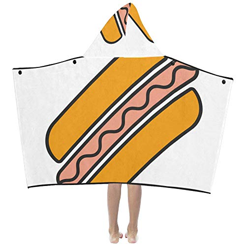 Adult Hot Dog Hoodie - Köstliche Hot Dog American Fast Food