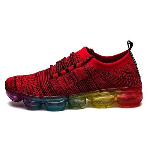 Chaussures De Sport De Mode Pour Hommes Chaussures Anti-dérapantes De Basket-ball Chaussures De Course Respirantes Chaussures De Sport Euro Taille 39-44 Rouge