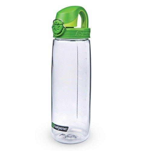 Nalgene Trink und Kunststoff flasche Everyday OTF, Transparent/Green, 0.65 Liter5565-4024