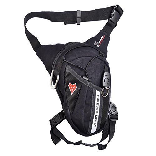 Baoblaze Unisex Motorrad Bike Racing Beintasche Im Freien Oberschenkeltasche Tasche Wasserdicht Hüfttasche