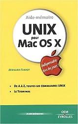 Unix pour Mac OS X