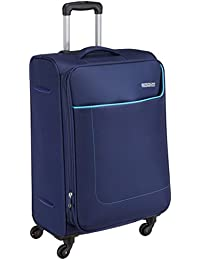 American Tourister Polyester 42.5 mm Navy Softsided Suitcase (AMT JAMAICA SP 69CM Navy Softsided)