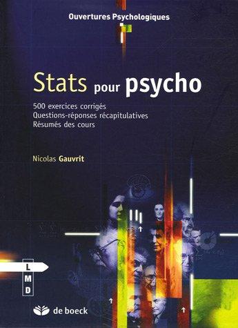 Stats pour psycho