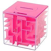Specifiche: Formato: 3.0 * 3.0 * 3.0 pollici / 7.6 * 7.6 * 7,6 centimetri Formato del pacchetto: 3.07 * 3.07 * 3.07 pollici / 7.8 * 7.8 * 7.8 cm Materiale: Acrilico Per le età: 6 anni in su Colore: Rosa Pacchetto lista: 3 * labirinto dei sold...