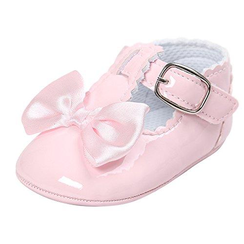 Princess Weiche Sohle Heligen Schuhe Kleinkind Turnschuhe Freizeitschuhe Prinzessin Weiches Schuhe Solekleinkind für 0-18 Monate ()