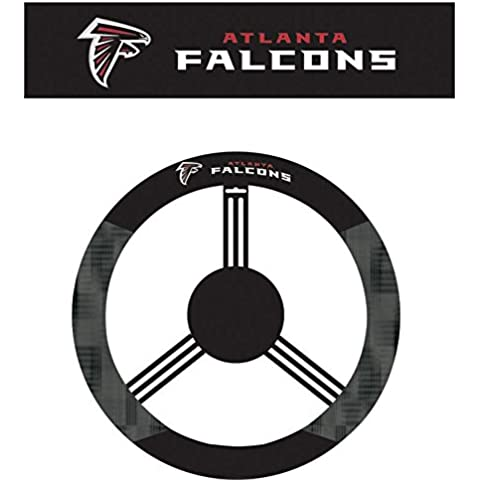 NFL Atlanta Falcons Poly-Suede Steering Wheel Cover