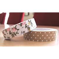 Stationery Island Fabric Tape - Set di