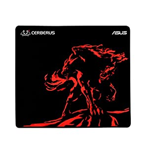 ASUS Cerberus Mat Plus Gaming Mouse Pad with Consistent Surface Texture and Non-Slip Rubber