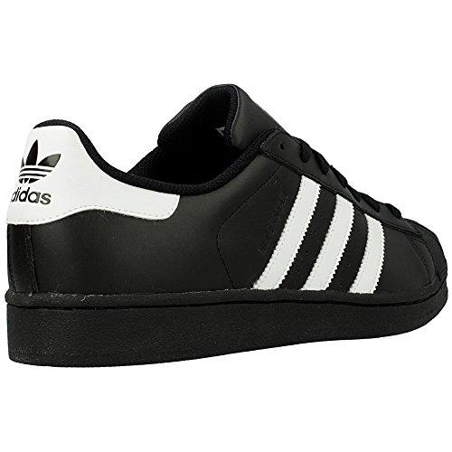 Adidas Superstar Foundation, Sneakers Unisex Adulto Bianco-Nero