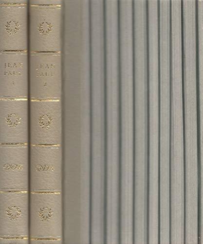 Jean Pauls Werke in zwei Bänden. 2 Bände. Halbleder.