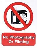 Schwimmen keine Fotografie oder Film Schild Schwimmen Foto & Film ACHTUNG Vorsicht Schild