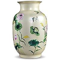Ceramic vase El florero de la Rosa Decorada con la Mesa de la Oficina de Vestuario
