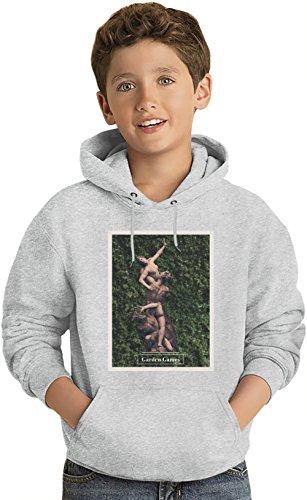 Leicht Kapuzenpullover Lightweight Hoodie For Kids | 80% Cotton-20%Polyester| 14-15 yrs (Green Creeper Hoodie)