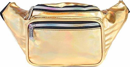 SoJourner Bags Gürteltasche Einheitsgröße holografisches Gold