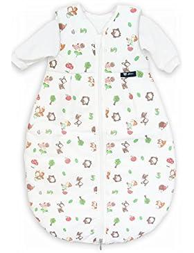 Alvi Kombi-Schlafsack 70 cm Ganzjahres Baby-Schlafsack 2-teilig - Langarm-Innensack & gefütterter Außensack, Temperaturen...