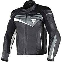 Amazon.it: Giacca In Pelle Bianca DAINESE