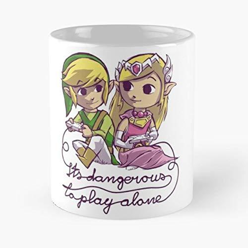 Zelda Link Videogame Videogames - Best Gift Ceramic Coffee Mugs Links Teller-set
