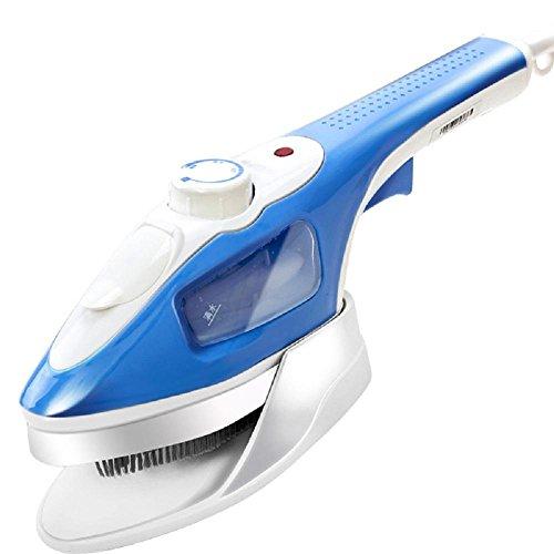 Spazzola a vapore a pile a pile a mano Home Mini Ferro da stiro ferramenta a ferro battuto 900W , light blue