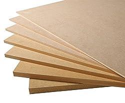 Builder Merchant CNKLJ0087 Mdf Board, Wood, 9 x 1220 x 610 mm