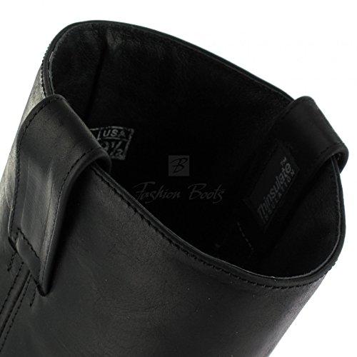 Sendra Boots Stiefel 9809 Bikerstiefel mit Thinsulate Insulation (in verschiedenen Farben) Sprinter Negro