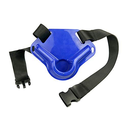 WINLISTING Taille kardanisch kämpfender Fischen-Gurt-Fisch-Rod-Halter-justierbarer Pfosten-Gerät (Blau, F) - Boot Für Fisch-rod-halter