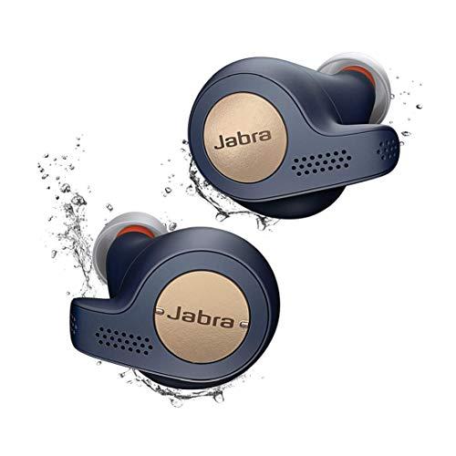 Jabra Elite Active 65t Écouteurs Bluetooth 5.0 True Wireless Sport avec le service vocal Amazon Alexa intégré - Bleu