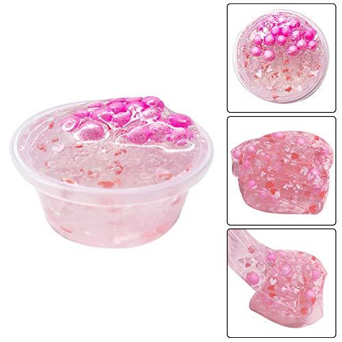 Cossll498 DIY Kristall Schleim Ton Schlamm Floam Putty Perle Kinder Kinder Anti-Stress Schlamm Spielzeug