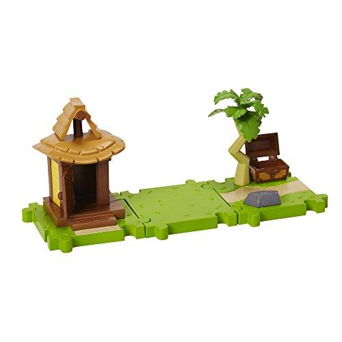 Mario Bros Micro Land W3-Links Island Village (Mario Bros Zubehör)