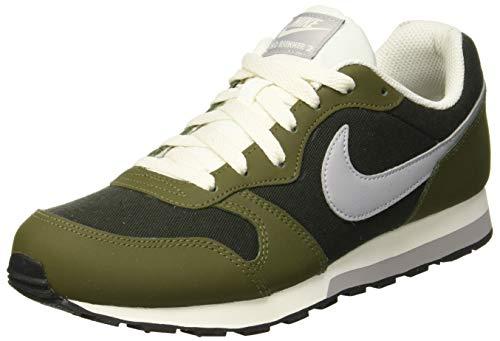 Nike Unisex-Erwachsene MD Runner 2 (GS) Fitnessschuhe, Mehrfarbig (807316 301 Multicolor), 38.5 EU