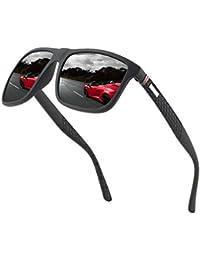 Perfectmiaoxuan Polarisierte Sonnenbrille Herren/Damen ; Vintage/Klassisch/Elegant Brillengestell; HD-Pilotobjektive; Golf/Fahren/Angeln/Reisebrille/Outdoor-Sportarten Mode Sonnenbrille …