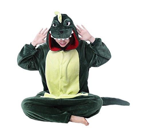 Trs-Chic-Mailanda-Unisex-da-adulto-Costume-Intera-Pigiama-Cosplay-Animale-Pigiama-costume-di-Halloweendinosauro