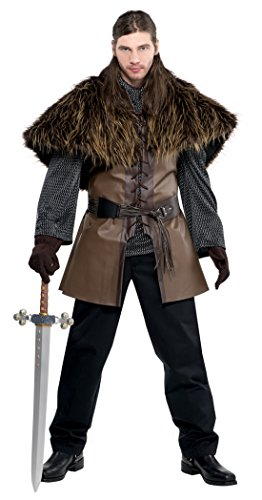 Confettery - Herren Fashion Game of Thrones Kostüm, Braun, One (College Kostüme Girl Halloween)