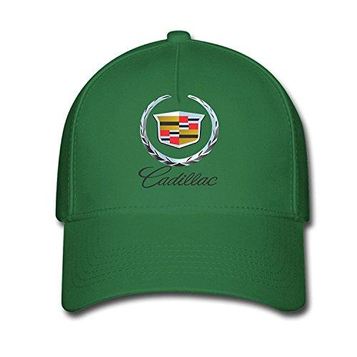feruch-unisex-cadillac-logo-baseball-caps-hat-one-size-green