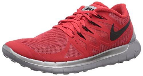 Nike Free 5.0 Flash 685168-600 Unisex-Erwachsene Laufschuhe Training Rot (Actn Rd/Blk-Rflct Slvr-Wlf Gry 600) 45 (Blk-training-schuhe)