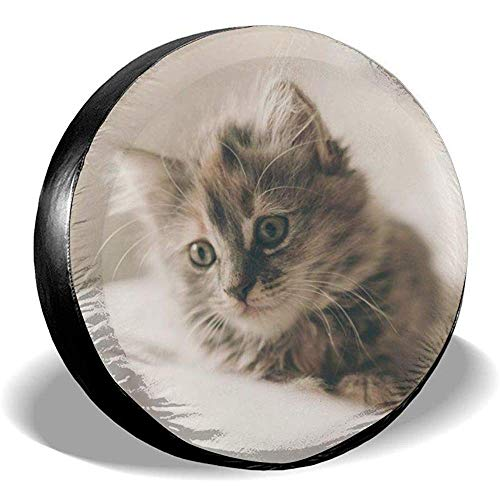 Hiram Cotton Spare Tire Cover Copertura Ruota di Scorta per Pneumatici Cat Fuoristrada Extreme Speed   Overdrive Univers
