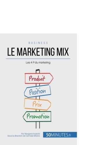 Le marketing mix: Les 4 P du marketing