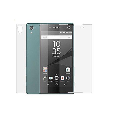NOVAGO® Hartglas Schutzfolie , Tempered Glass Screen Protector, für Sony Xperia Z3 (Back + Front set) (Screen Protector Für Xperia Z3)