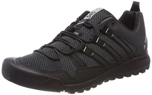 adidas Herren Buty Terrex Solo BB5561 Cross-Trainer, Grau (Dark Grey/Core Black/Ch Solid Grey), 43 1/3 EU (Solo-tennis-trainer)