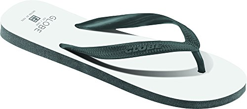 Globe Void Flip Flop - White / Charcoal White / Charcoal