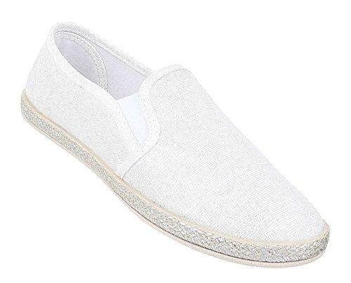 De Brancas Baixa Loafer Shoes Mulheres Slipper SqdwZcZT