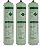 Langley 3 X Pure Argon Disposable Gas Bottles 390G 60L