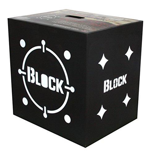 Block schwarz Armbrust 4-seitig Bogenschießen Ziel–Entworfen für die Armbrust Archer, Herren, schwarz