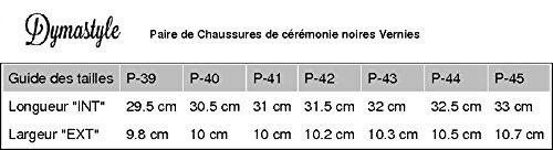 Dymastyle - Chaussure de Mariage Vernies Noir Noir